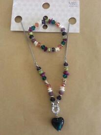 Matching Necklace & Bracelet