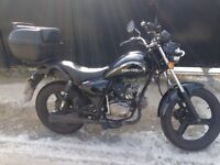 Zontes Tiger 50cc motorcycle