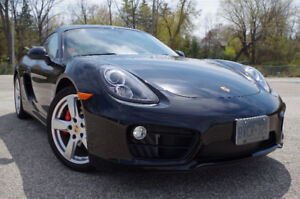2014 Porsche Cayman S Coupe (2 door)