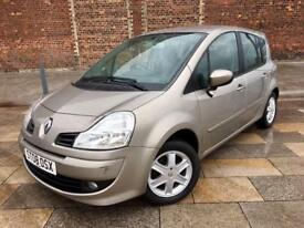 2008 RENAULT MODUS / ALLOY WHEELS / REMOTE LOCKING / ELECTRIC WINDOWS / CD / MARCH MOT .