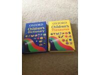 Oxford children's Dictionary & Thesaurus