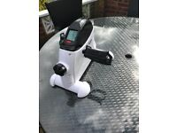 Arm & leg mini Exercise resistance bike with LCD display