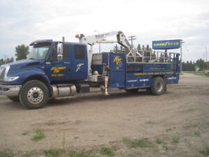 full time Experienced Tire Truck Operator