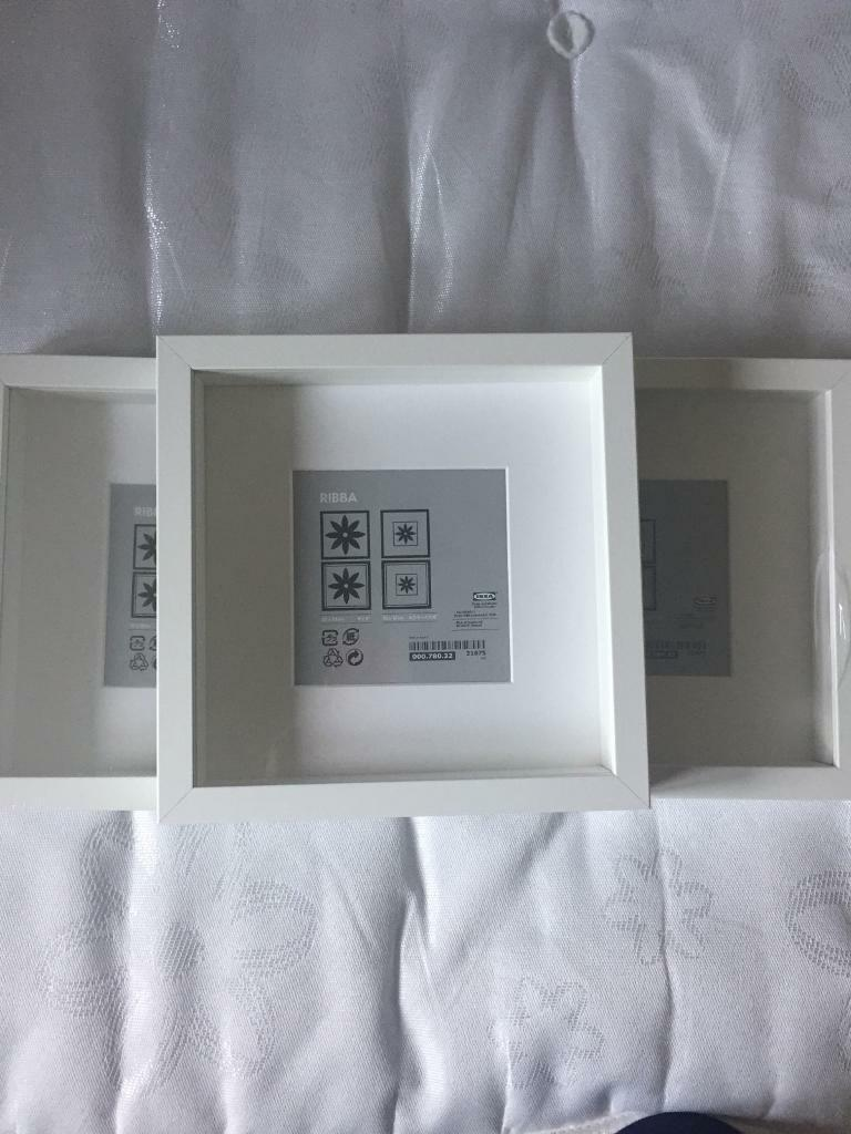 3 Ikea ribba frames 23x23 | in Eastleigh, Hampshire | Gumtree