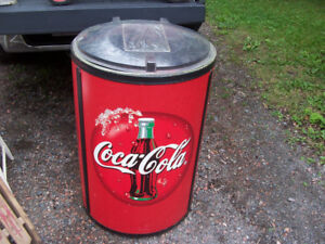 Coke Ice Cooler 35 Tall and 23 Across