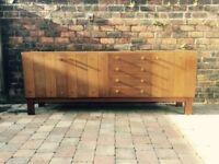 Large 1970s German Oak Sideboard