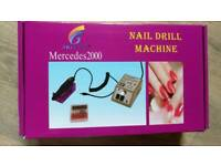 Electric Nail Drill Electric File Machine with CE Certificate