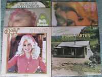 5 Dolly Parton LP's