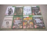 Xbox 360 500 GB Console with Controller, all wire's & 20 game's.