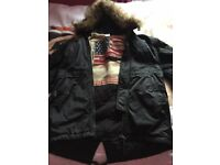 As New True Religion Parka Fur Jacket (£495 cost)