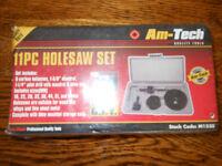 11 piece Holesaw Hole Saw Set, bnib