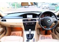 BMW 320i SE AUTOMATIC BUSINESS EDITION 4 DR SALOON SATNAV CREAM LEATHER SEATS FSH HPI CLEAR