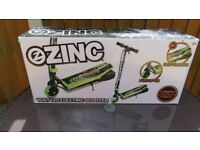 Zinc Volt 120 Electric Scooter-Green & Black-Unused with Charger-In Original Box-Collect or Post £12