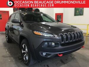 2016 Jeep Cherokee V6 - TRAILHAWK 4X4 - CUIR ET TISSUS + DÉMARRE