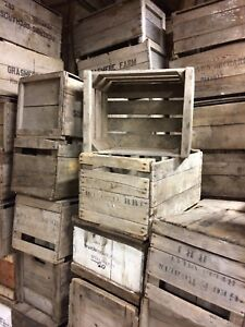 Wide selection of apple crates for sale $10 each