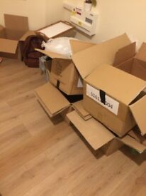 Free packing boxes to pick up
