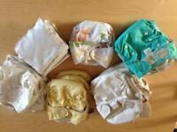 Reusable nappies bundle SOLD
