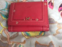 Radley Pink Leather Purse