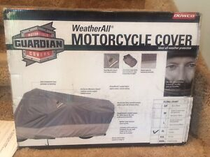 New: All weather motorcycle cover