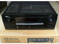 Denon AVR-1910 7.1 Channel AV Receiver / Home Cinema Amplifier