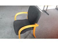 19 chairs and 6 tables. Perfect for small functions office space etc...