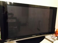 Panasonic Viera TH-42PZ70 42in plasma TV & 2nd generation Apple TV