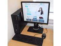Windows 10 Complete PC HP Core i3 USB 3.0 320GB HDD ProDesk 400 G1 SFF