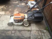 Victa commando petrol lawnmower