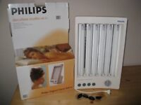 PHILIPS HB311 Large Solaria Solarium Tanner with goggles and instructions in box