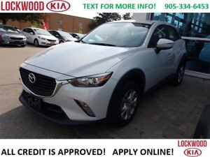 2016 Mazda CX-3 GS - LEATHER, SUNROOF, REARVIEW CAMERA
