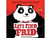 LET'S FIND FRED WITH STEVEN LENTON