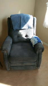 Gently used recliner