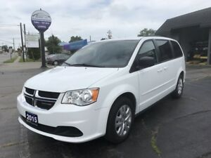 2015 Dodge Grand Caravan SE/SXT Full Stow n' Go!