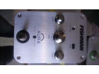 FISHMAN AURA ACOUSTIC IMAGING PEDAL for Acoustic Guitars. Ex display, mint condition.