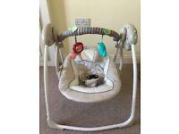 Ingenuity Cosy Kingdom Baby Swing