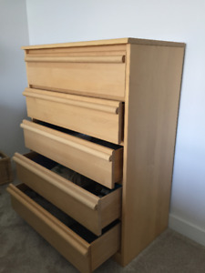 Solid Birch Dresser Set