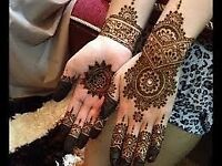 Bridal henna mehndi artists