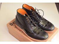 Bertie's POLLARD Ankle Brogue women Boots size 5.5 very little use
