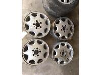 Mercedes 8 Hole Alloys 6-1/2x15 5x112