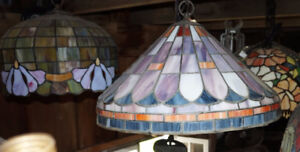 Stain glass lighting 40+ years old
