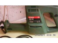 Bosch electric saw.