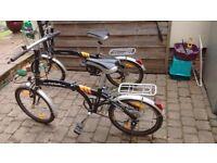 Two bicicles 4u Folding Bikes
