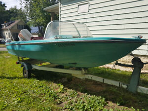 "2000obo - 18"" North Craft with a 70hp Chrysler for sale"