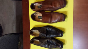 2 pairs of Men`s shoes Italian style like new