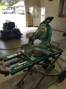 "Makita 10"" compound Miter saw."