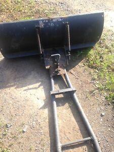 4 wheeler plow