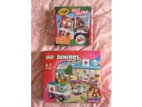 Lego juniors and silly selfies set - Brand new!