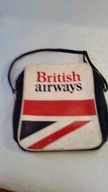 British Airways shoulder bag.