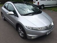 Honda Civic 2.2 CTDI Silver Immaculate Condition