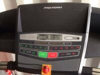Proform treadmill 515 zlt ex display 2 months warranty delivery availabe